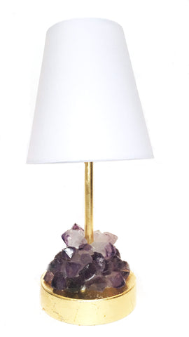 Petite Amethyst Mini Lamp (Night Light)