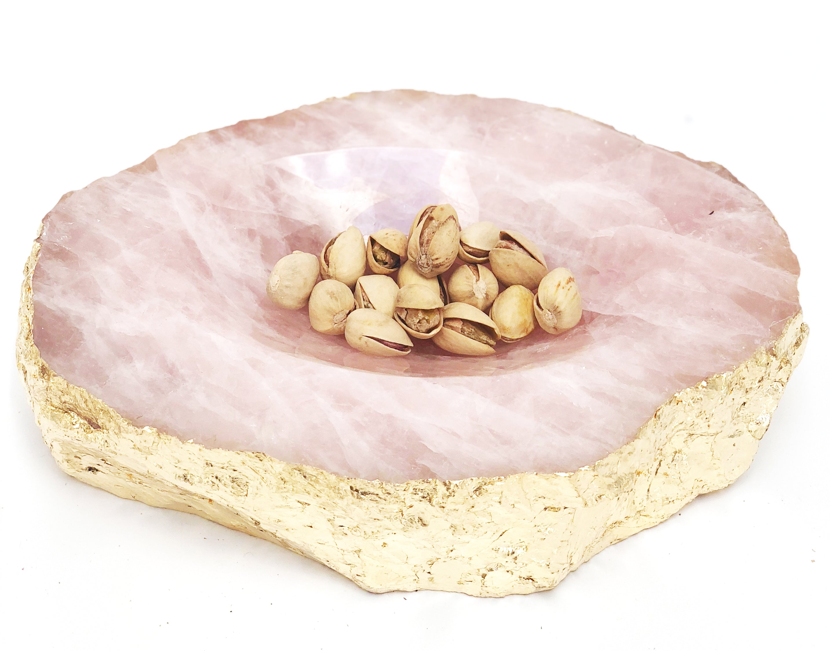 Rose Quartz Dish