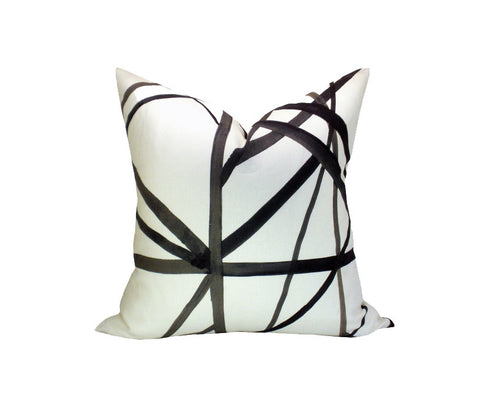 Kelly Wearstler Channels Decorative Pillow