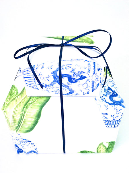 Ginger Jar Banana Leaf Wrapping Paper