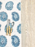 Blue Paisley Table Runner