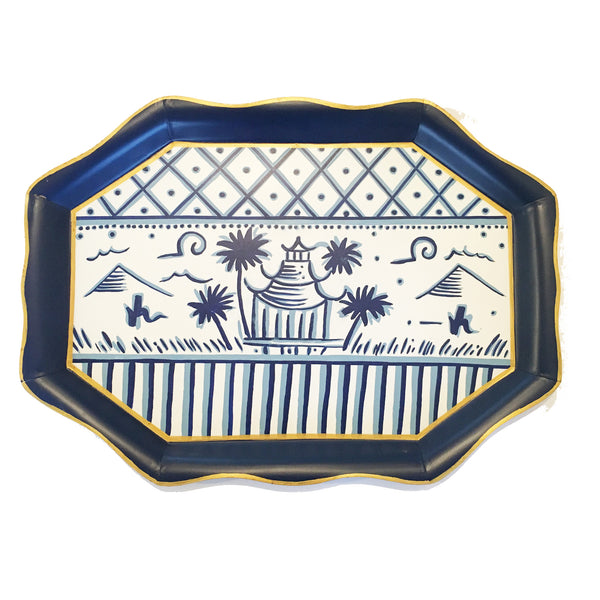 Pagoda  Tea Tray by Tom Tom & Co.