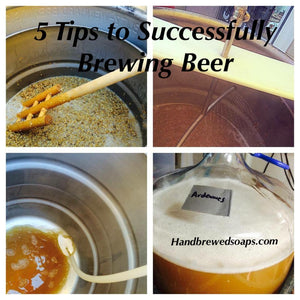 5 Tips to Successfully Brewing Beer