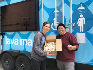 Local Supporting Local:  LavaMaex - Providing Showers To Our Unhoused Neighbors