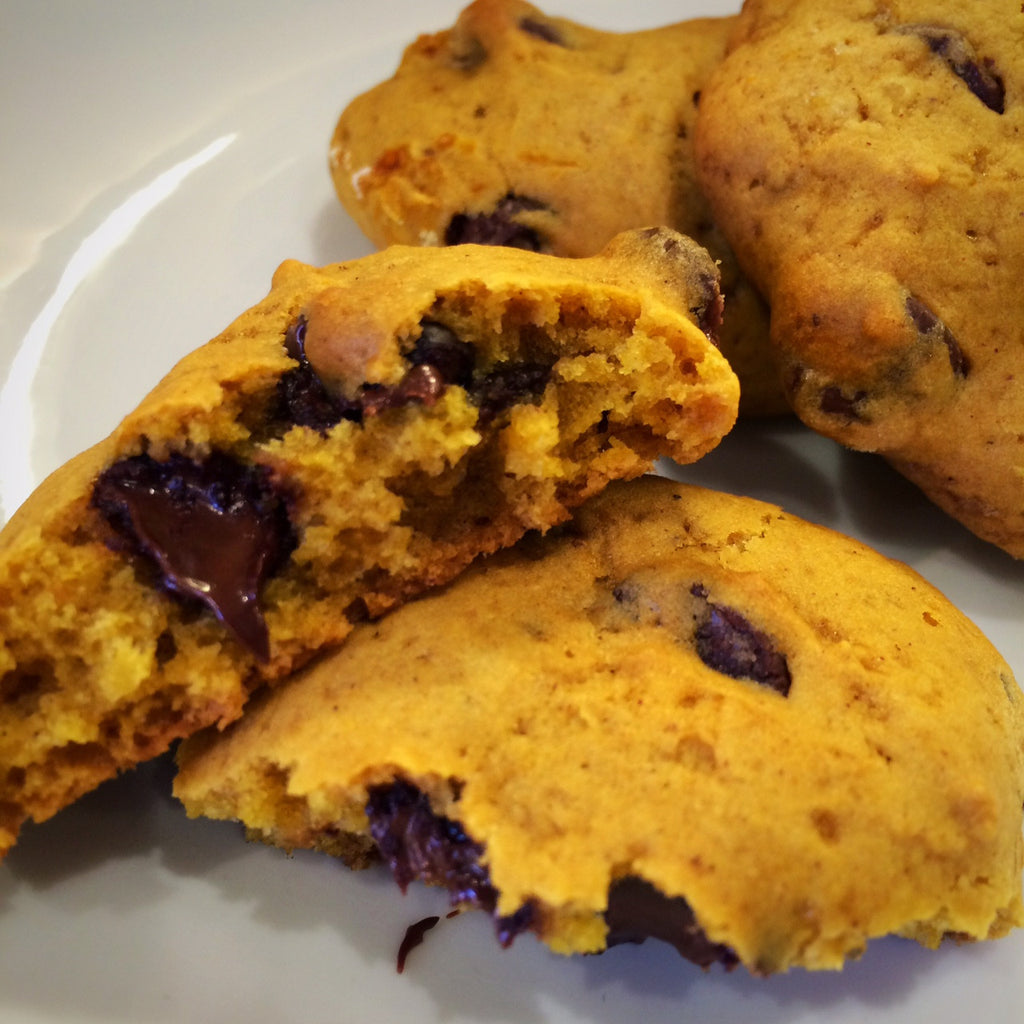 RECIPE: PUMPKIN BEER CHOCOLATE CHIP COOKIES