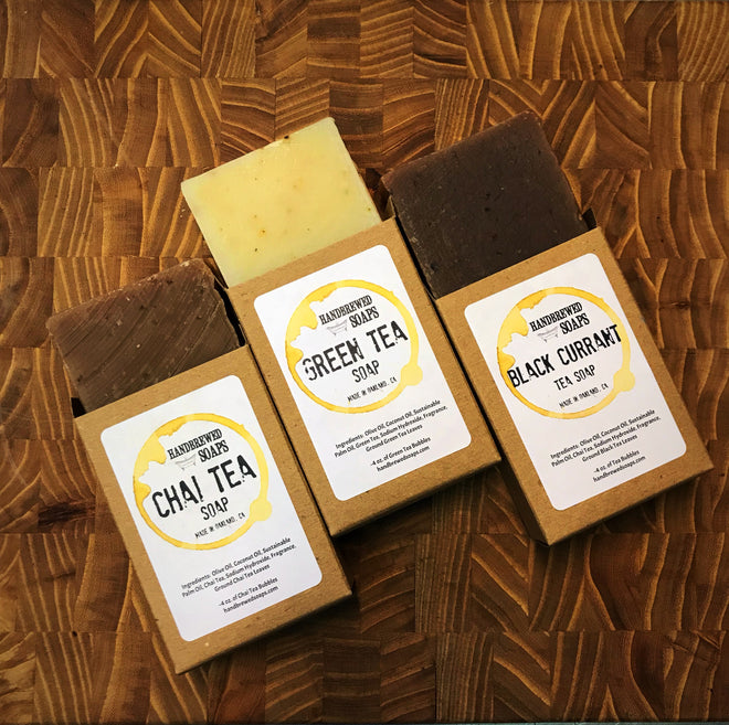 Tea and Coffee Soaps