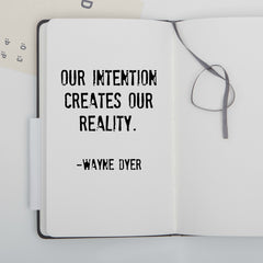 Intentions create reality
