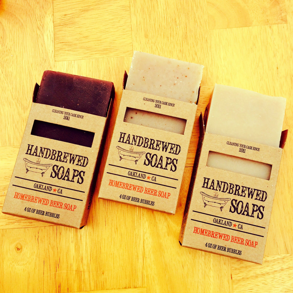 Most Popular Three Pack of Beer Soap