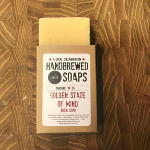 Ale Industries Golden State of Mind Beer Soap