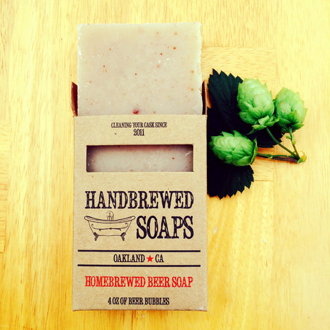 Tobacco and Bay IPA Beer Soap