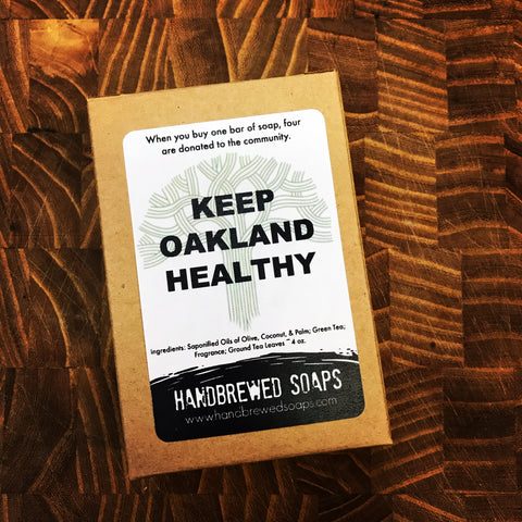 Keep Oakland Healthy Soap, Oakland Soap, Handbrewed Soaps