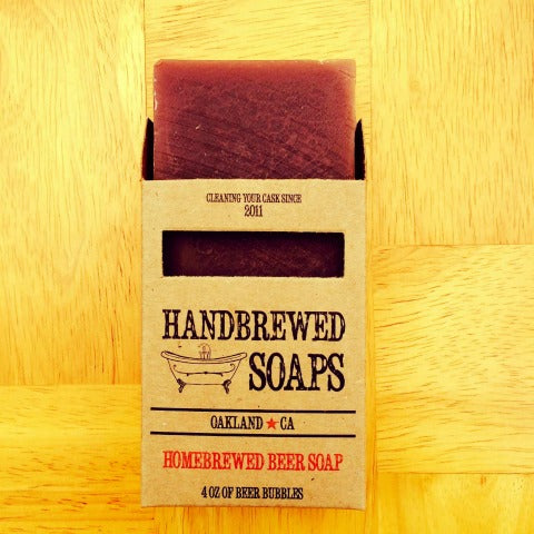 Almond Stout Beer Soap