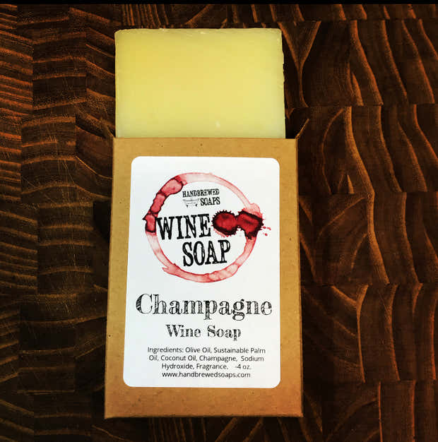 Limited Edition: Champagne Wine Soap 1