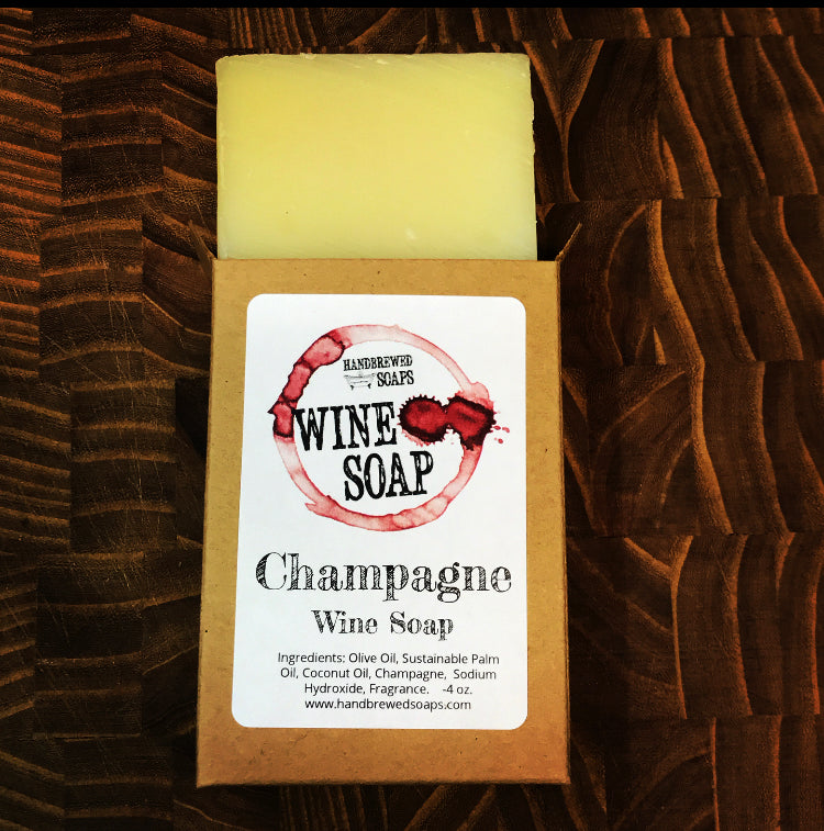 Limited Edition: Champagne Wine Soap