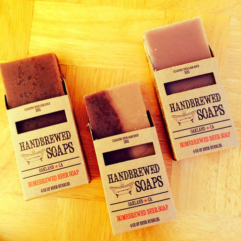 Fall Homebrewed Beer Lover Soap Collection