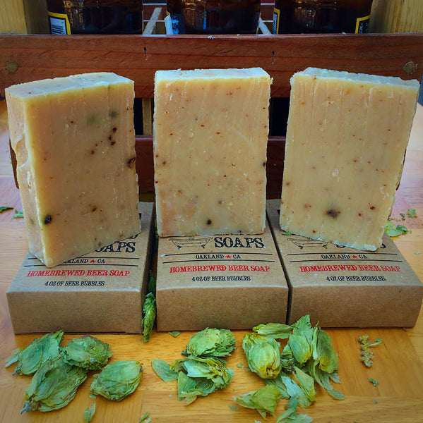 Beer Soap: Hops Soap