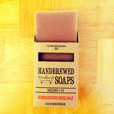 Pumpkin Ale Beer Soap