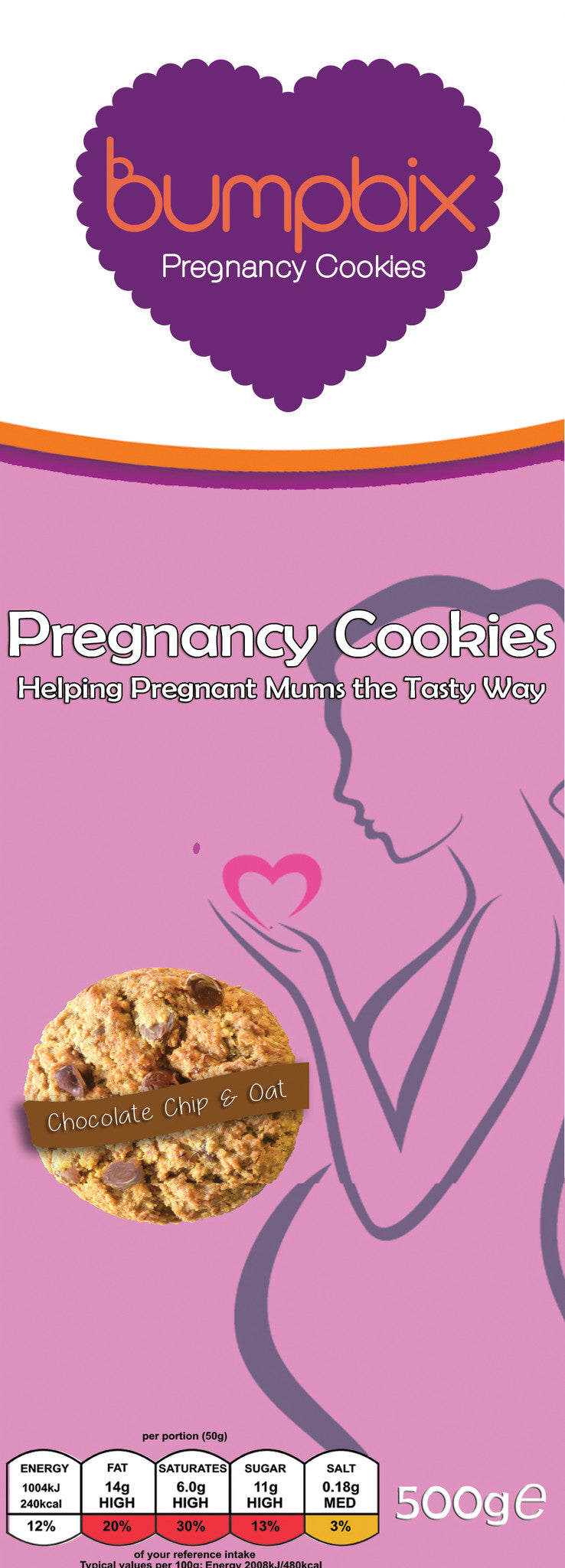 NEW!  Bumpbix Pregnancy Cookies