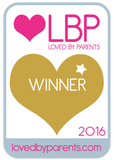 Loved by parents awards 2016 Boobbix lactation cookies gold