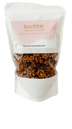 Load image into Gallery viewer, Maple & Pecan Lactation Granola
