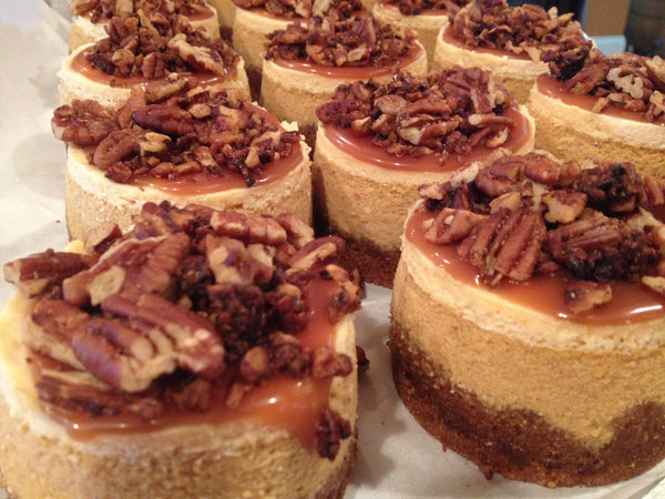 Pumpkin Caramel Crunch Cheesecake
