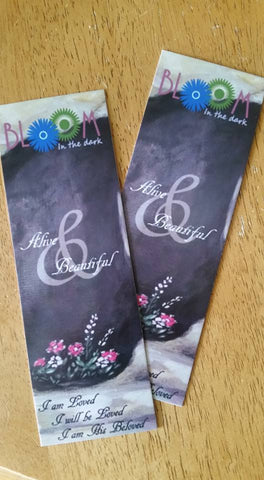 Alive and Beautiful bookmarks