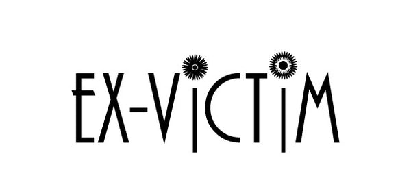 Ex-Victim logo necklace
