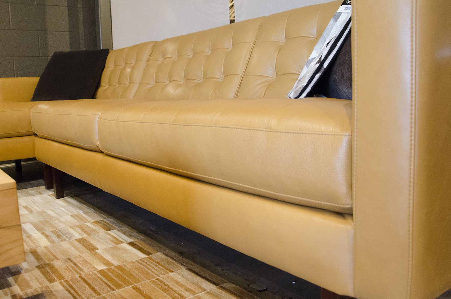 Marvelous Parker Sectional By American Leather At Solid Austin Evergreenethics Interior Chair Design Evergreenethicsorg