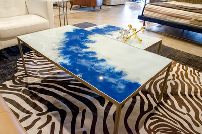 Blue Mist Coffee Table