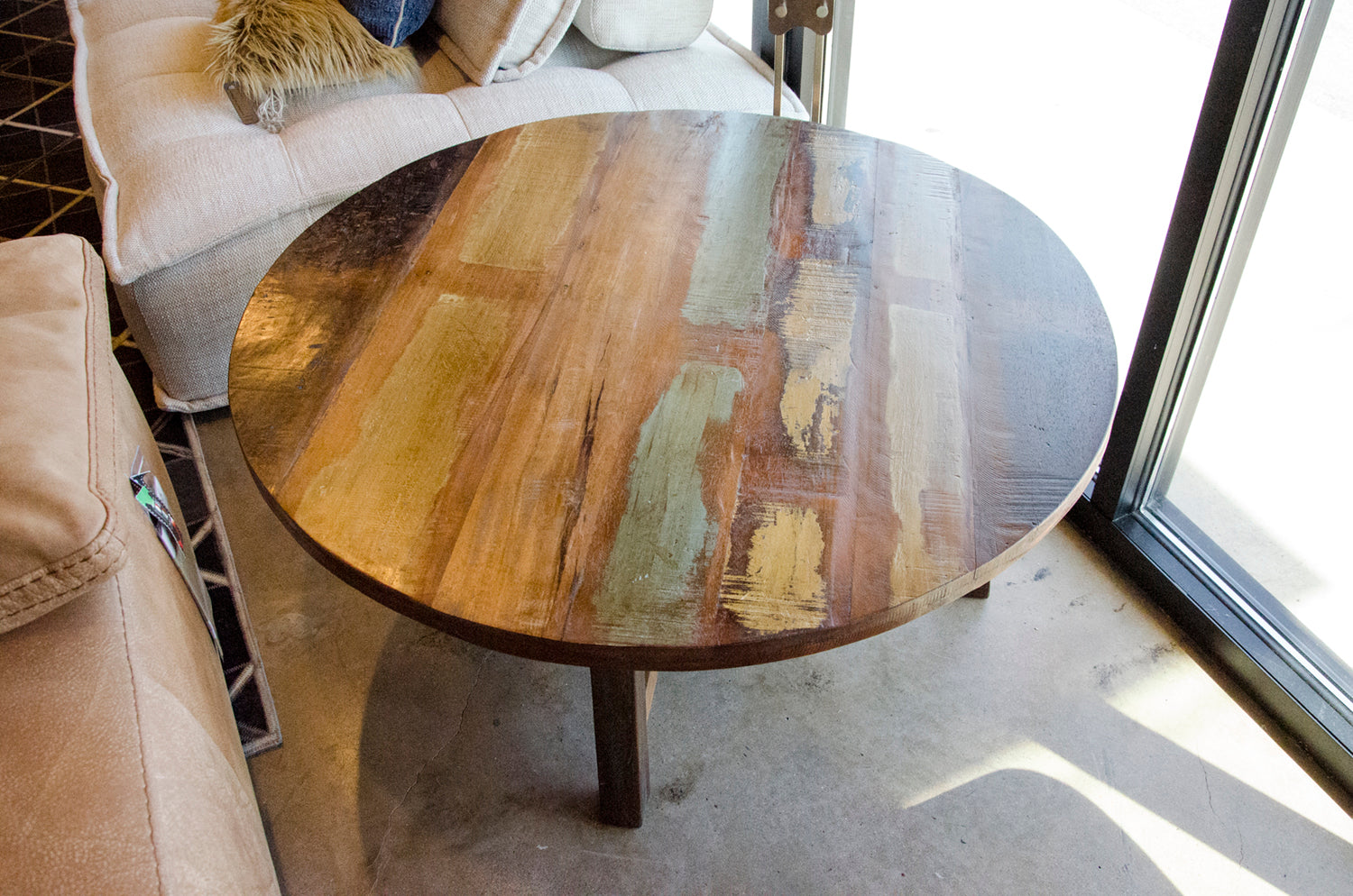 Dolan Round Coffee Table