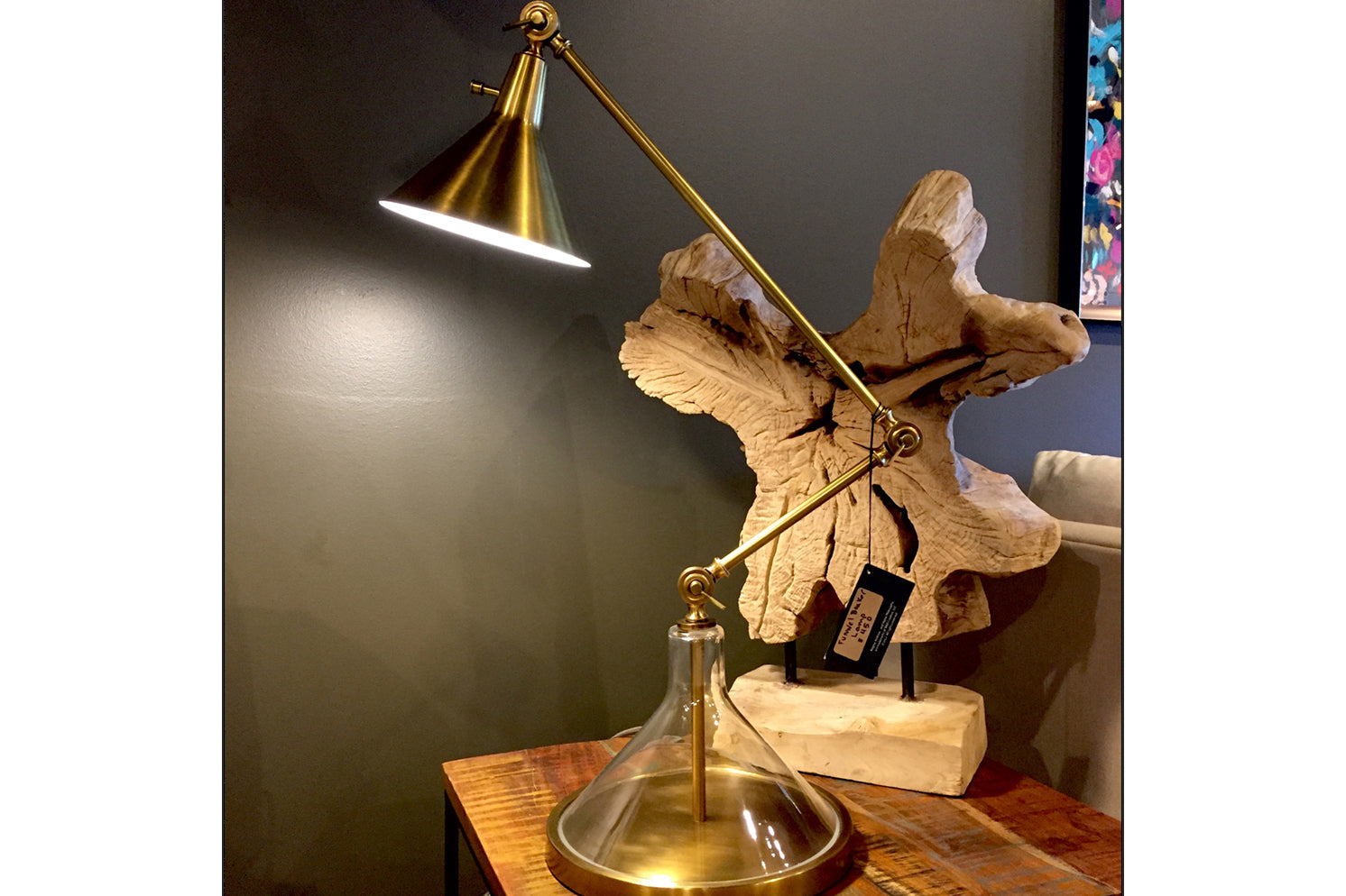 Funnel Beaker Desk Lamp