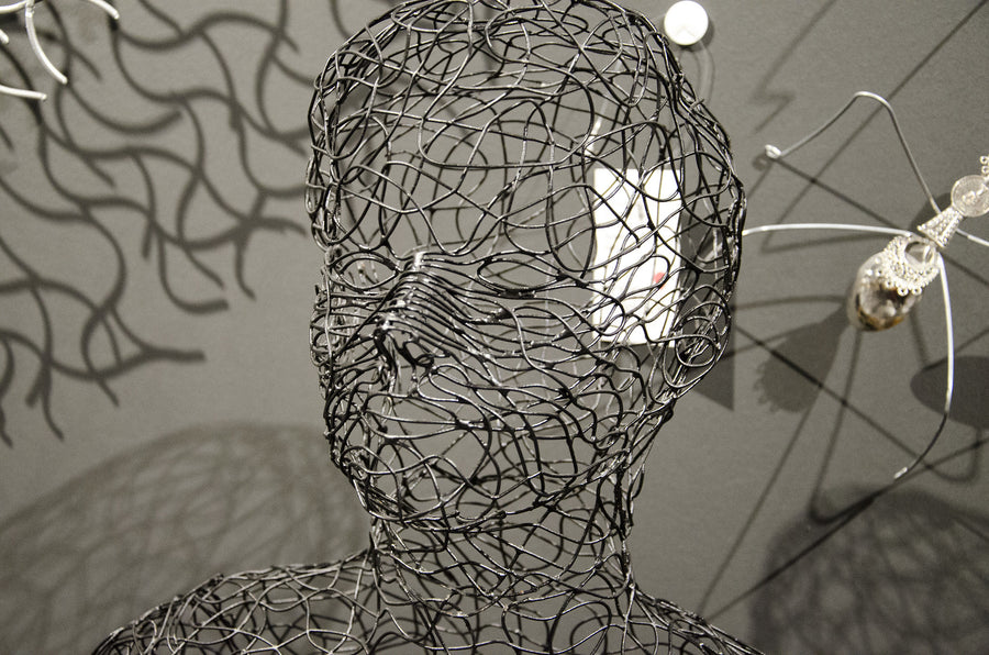 Crazy Wire Scupltures