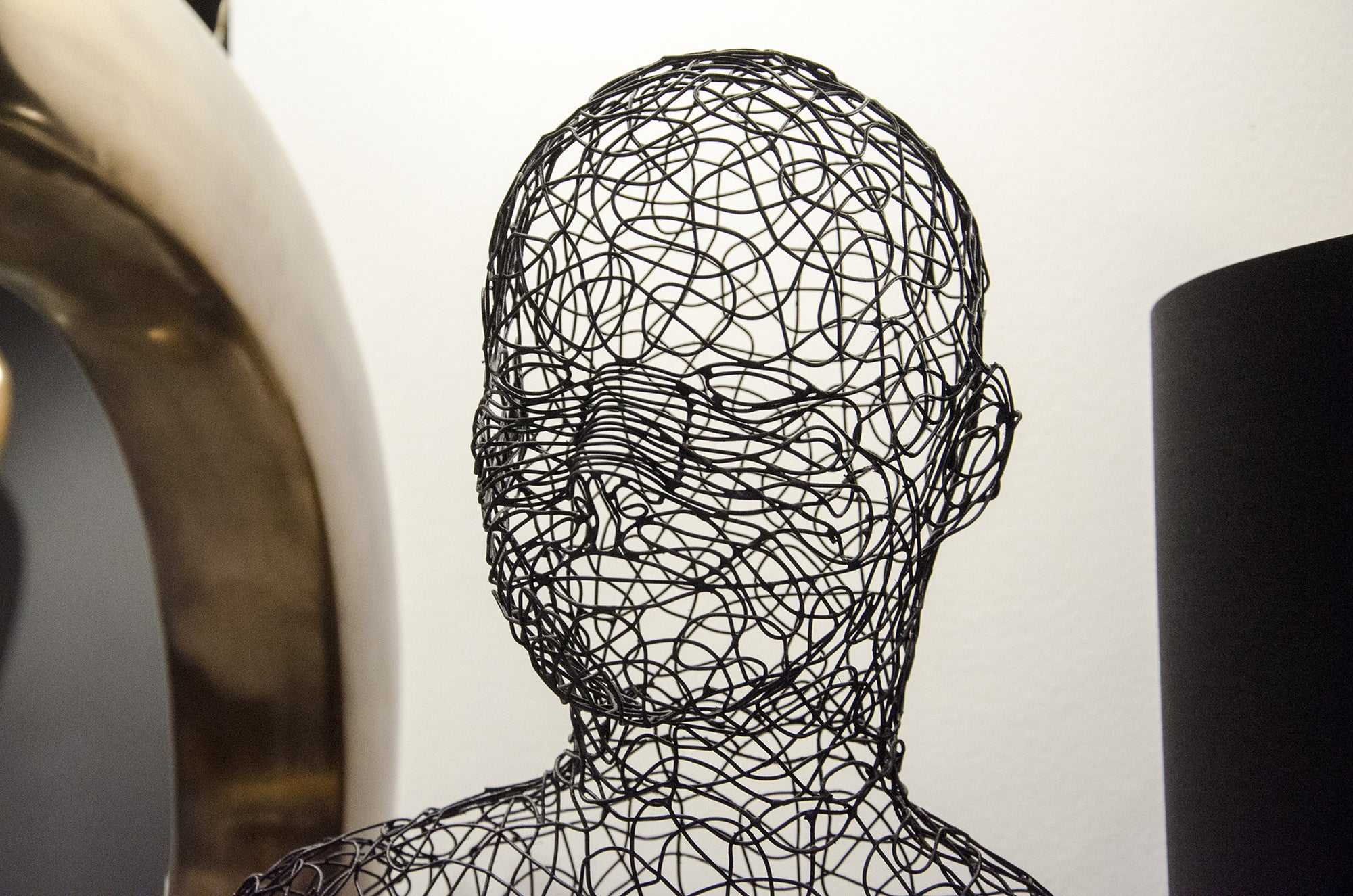Crazy Wire Sculpture By Phillips Collection At Solid Austin