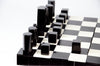 Modern Geometry Chess Set