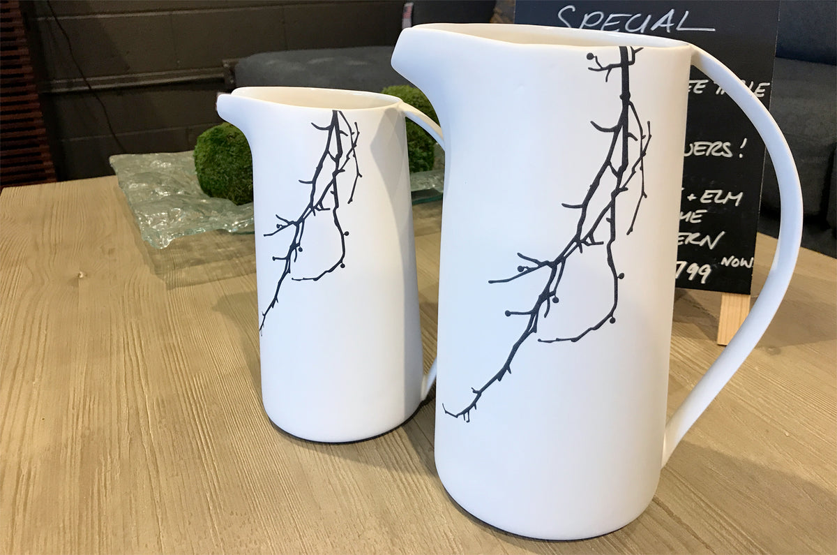 Ceramic Tree Pitchers