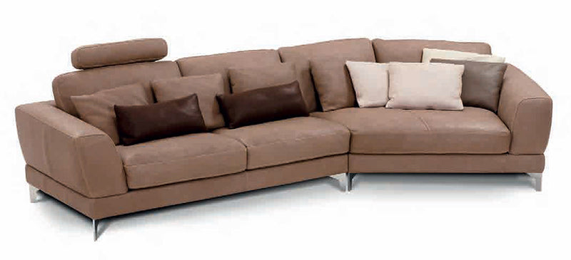 handmade leather sectional by incanto italian furniture. Black Bedroom Furniture Sets. Home Design Ideas