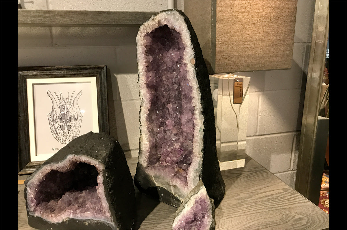 Amethyst Geode Cave