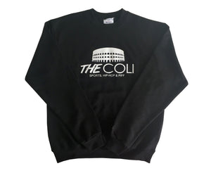 Coli Signature Sweater | Black/White