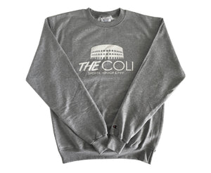 Coli Signature Sweater | Grey/White