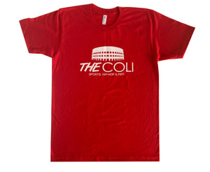 Coli Logo T-Shirt | Red/White