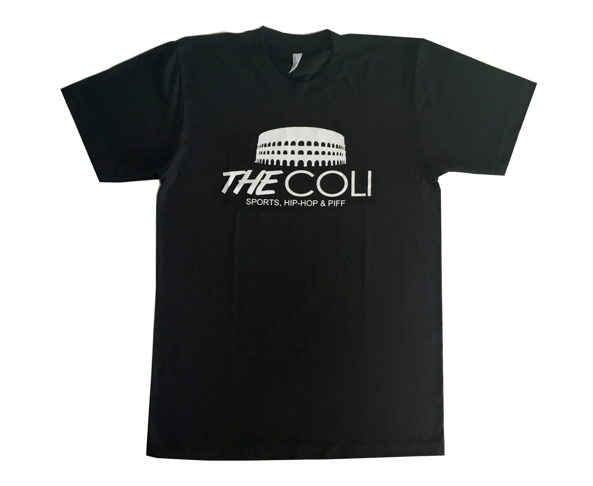 Coli Logo T-Shirt | Black/White