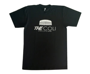 Coli Logo T-Shirt | Black/White/Grey