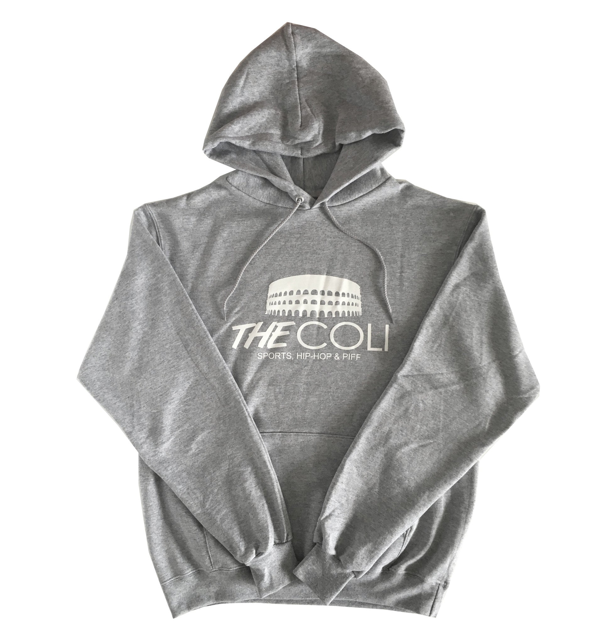 Coli Signature Hoodie | Grey/White