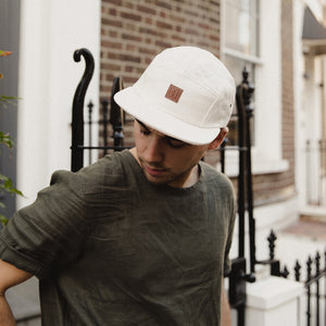 5-PANEL CAMPER CAP — NATURAL HEMP
