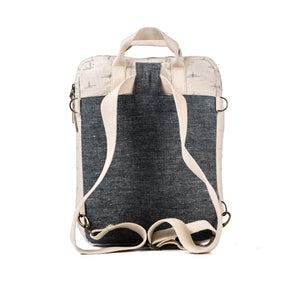 CONVERTIBLE BACKPACK—DAYDREAM IKAT