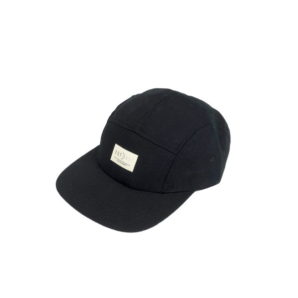 5-PANEL CAMPER—BLACK TOPI