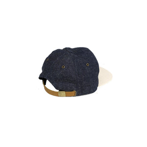 DAYBREAKER RELAXED STRAPBACK CAP — HEMP DENIM