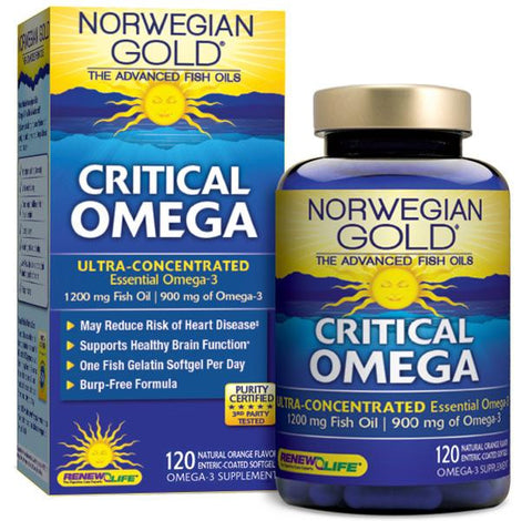 Renew Life Norwegian Gold Critical Omega