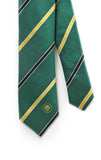 African Nations Green/Yellow Tie