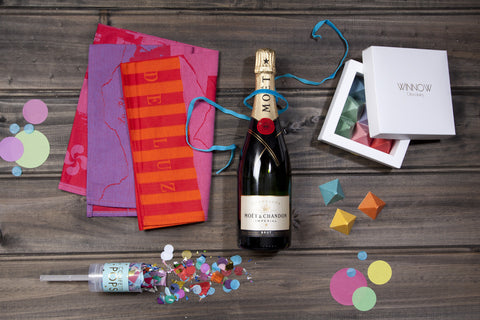 Champagne & Confetti - Retirement Hampers